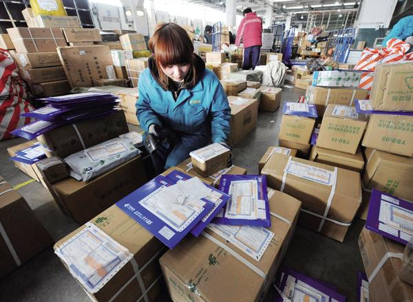 Booming E-commerce Swells China's Delivery Service, Though Industry Sees Few of the Profits