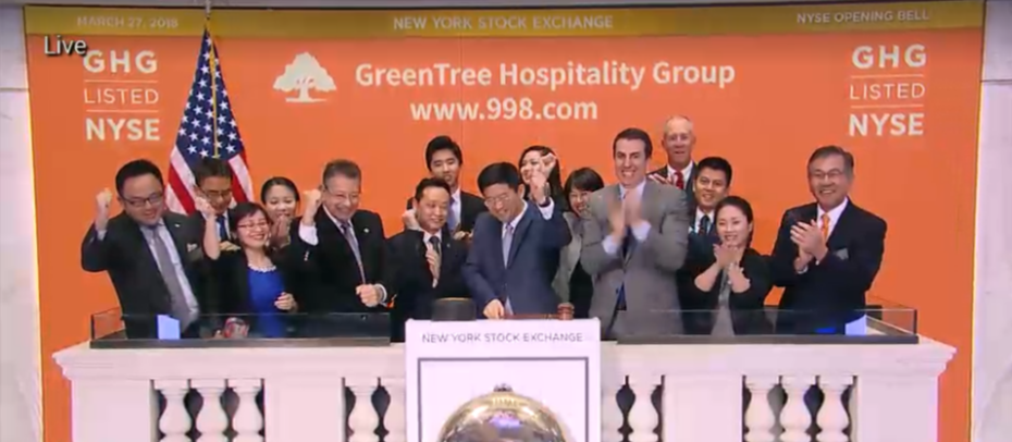 GreenTree Gets Little Hospitality on First Day of Trading