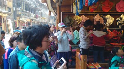 CHINA VIEW: Even in Hinterlands, Mobile Points the Way for Retail Shopping in China