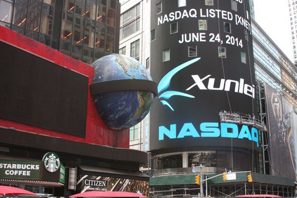 Xunlei Revenue Up from Year Ago, but Dips from Fourth Quarter; Stock Down 10% Intraday