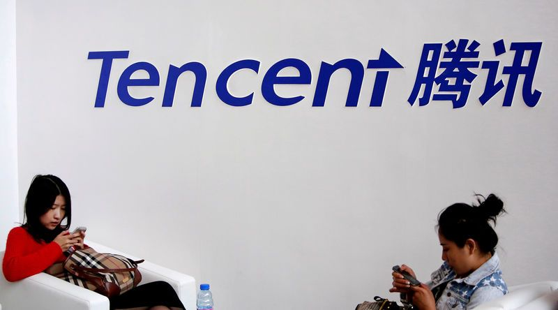 Chart: Tencent Sees Strong First-Quarter, WeChat Passes Milestone
