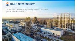 Morgan Stanley Buys 5% Stake in Daqo New Energy, Fueling Stock Increase