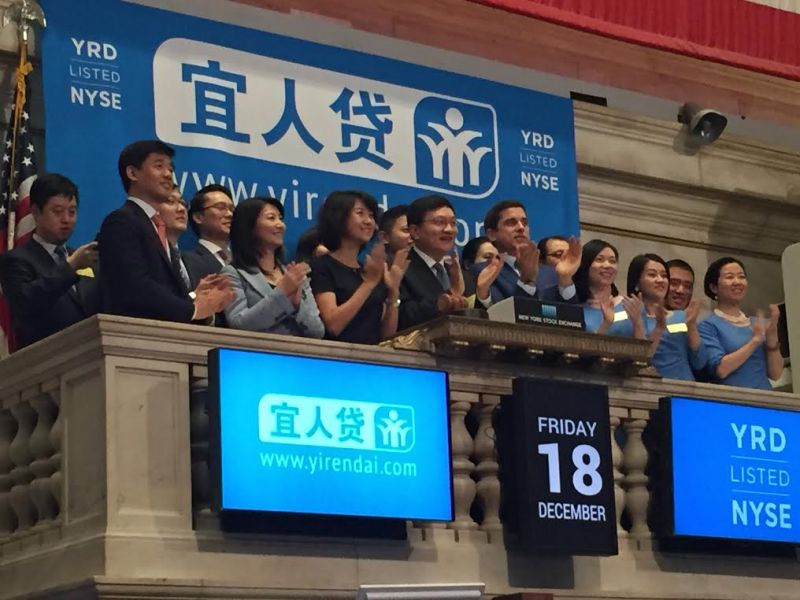 Yirendai Shows Continued Growth, Shares Up After-hours Despite Lower Earnings