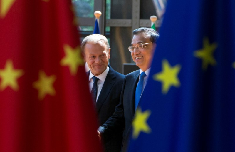 Exclusive - China Presses Europe for Anti-U.S. Alliance on Trade