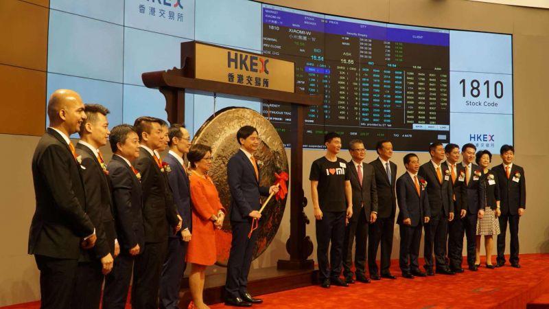 Xiaomi Hits Turbulent Open in Hong Kong IPO