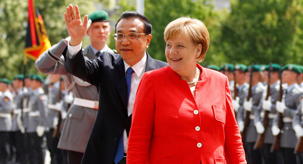 German Companies Sign Contracts With Chinese Partners