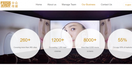 Alibaba Takes to China's Digital Marketing Sector With Focus Media