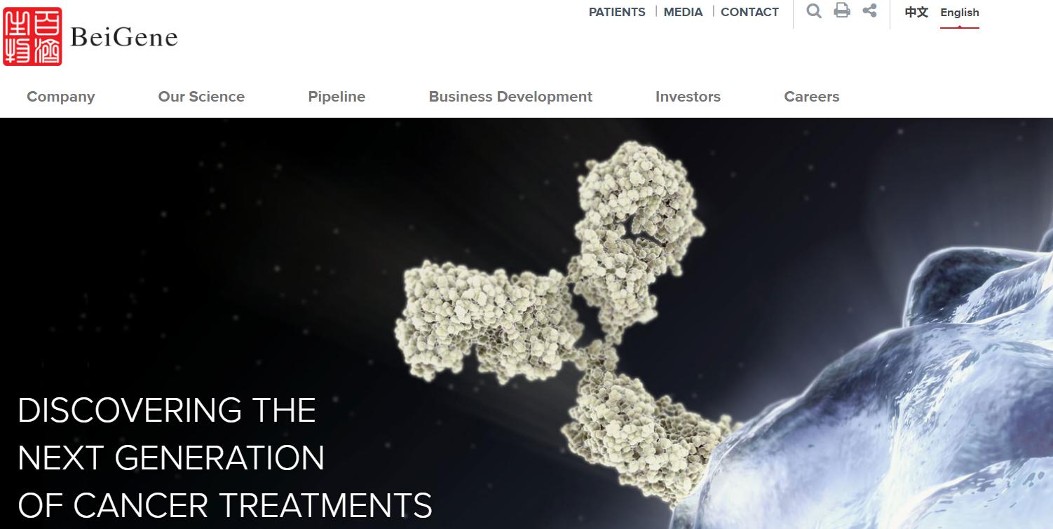 BeiGene to Offer 65.6 Million Shares in Hong Kong; Stock Drops 4% in New York