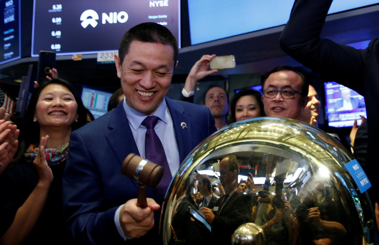 Day 2 Sends Nio S Shares Flying 76