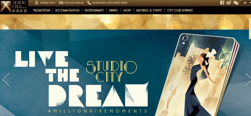 Gaming Resort in Macau, Studio City Seeks New York IPO of Up to $360 Million