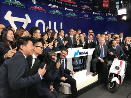 Niu Raises $63 Million in Downsized IPO; Trades 23% Down in First Hours