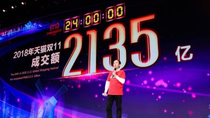 Alibaba Hits Record $31 Billion Sales on Singles Day Amid China's Economic Slowdown