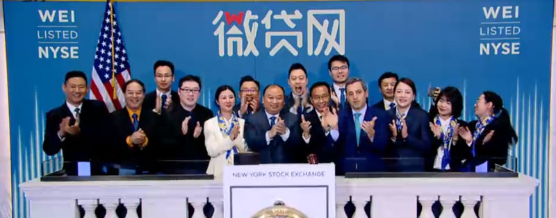 Weidai Prices at $10 Per Share, Launches $45 Million IPO in New York
