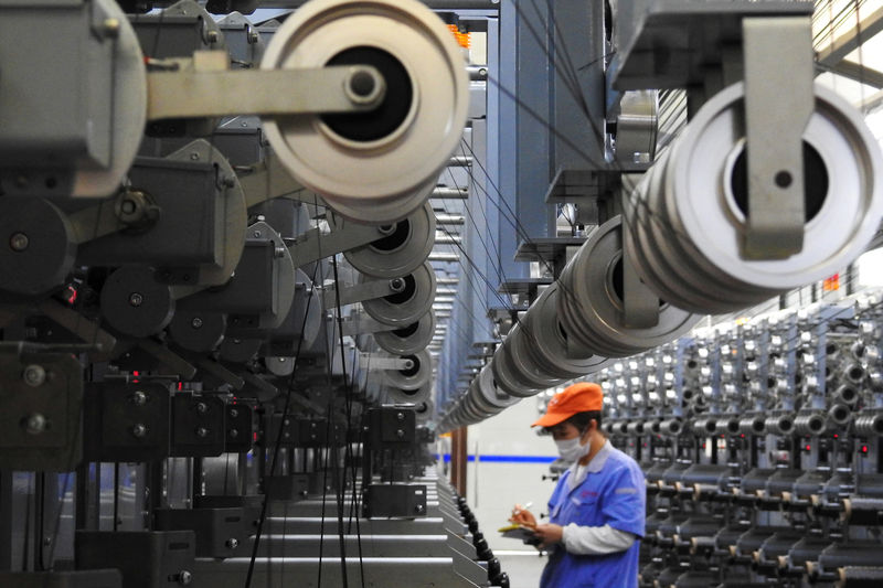 China's Industrial Profits Suffer First Year-on-Year Fall in Almost Three Years