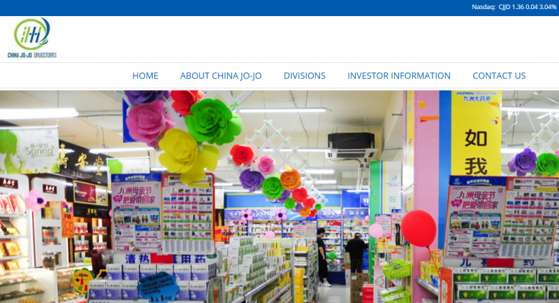 China Jo-Jo Drugstores Announces New Strategic Approach