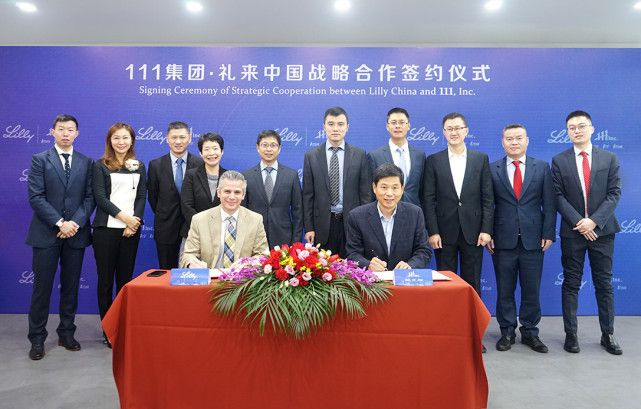 111 to Collaborate with U S  Pharmaceutical Company Eli