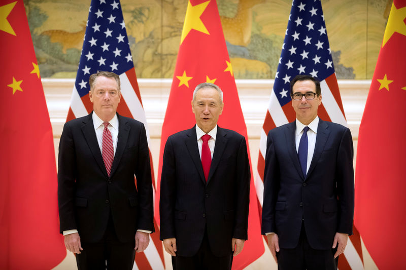 Top U.S. Trade Envoys to Meet China's Xi; No Decision on Deadline Extension