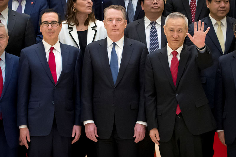 U.S.-China Trade Talks to Resume in Washington Next Week