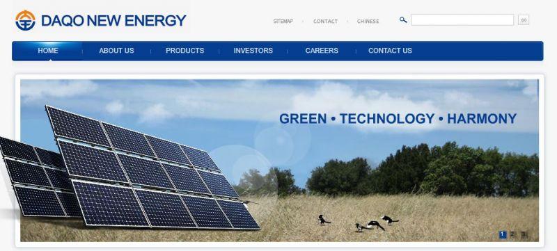 Daqo New Energy Returns to Profit in the Fourth Quarter