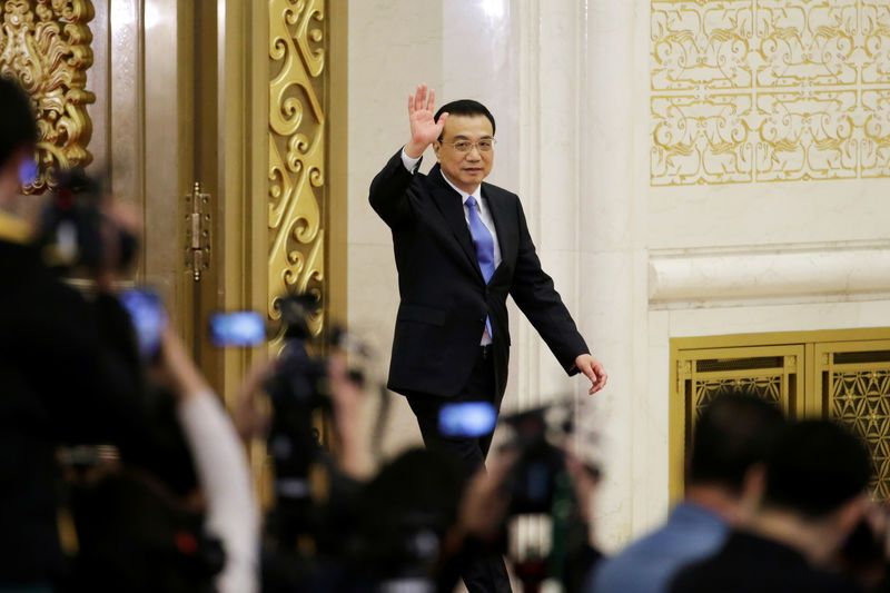 China's Premier Says Ready to Use More Policy Tools to Help Economy