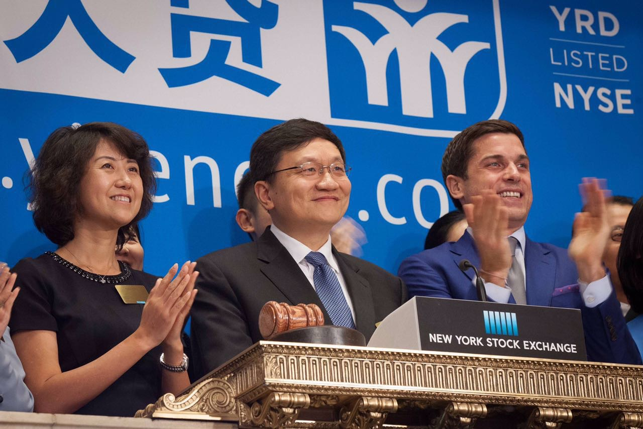 Yirendai Shares Jump 15% Despite 38% Drop in Loan Amount