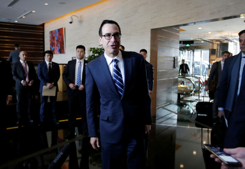 U.S., China Hold 'Candid and Constructive' Trade Talks in Beijing