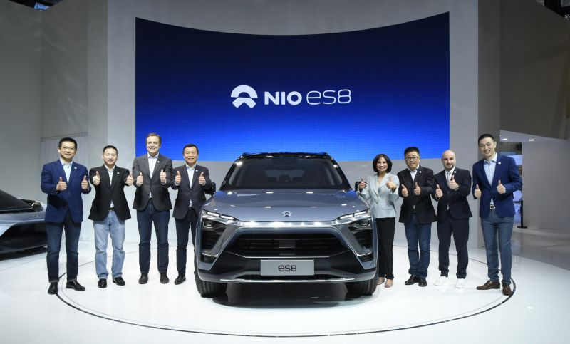 Nio Shares Rise Nearly 4% as First Quarter Deliveries Exceed Expected Level