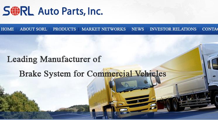 ANALYSIS: At SORL Auto Parts, Subsidies Give Shares Upward Momentum
