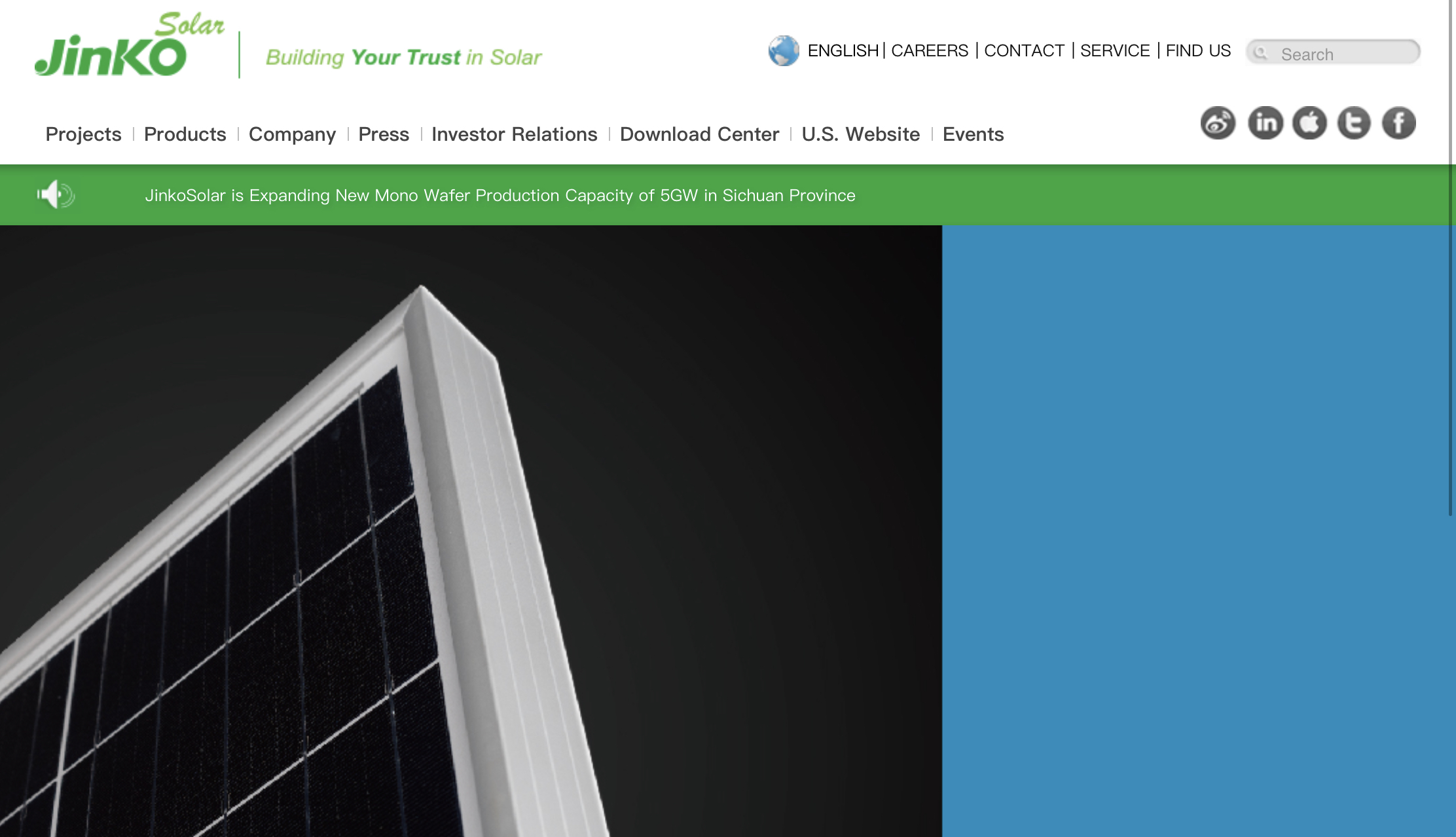 JinkoSolar Targets $64 Million in Follow-on Offering; $85 Million in Private Placement