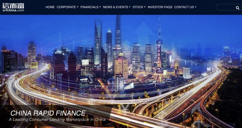 China Rapid Finance Announces Business Changes, Non-compliance; Stock Tanks 37%