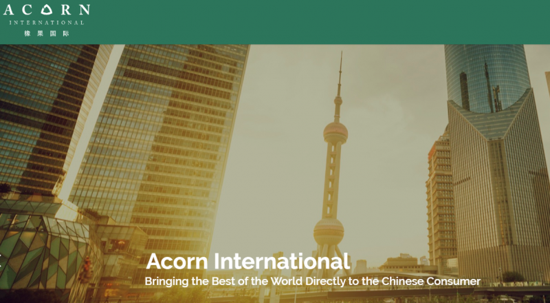 Acorn International Reports Strong Revenue; Shares Up 6%