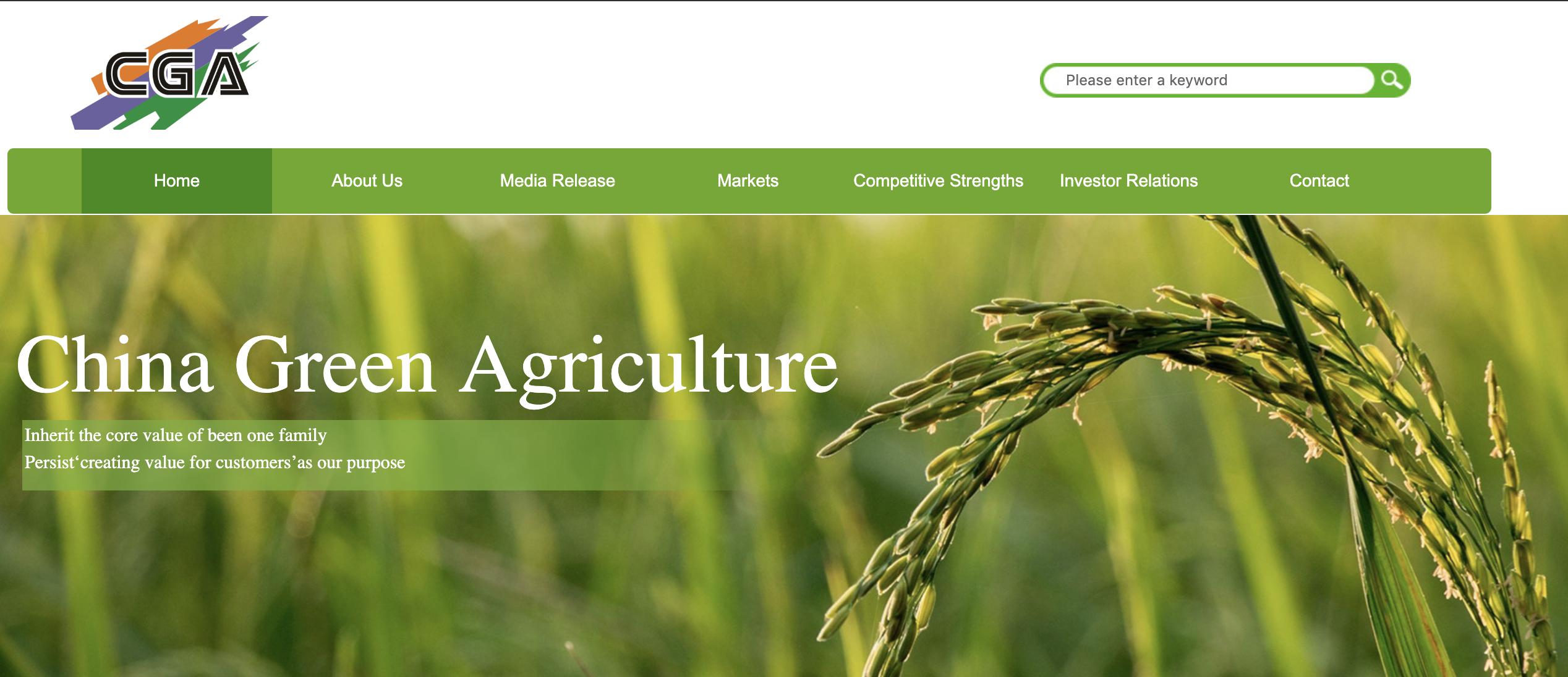 China Green Agriculture Announces Reverse Stock Split