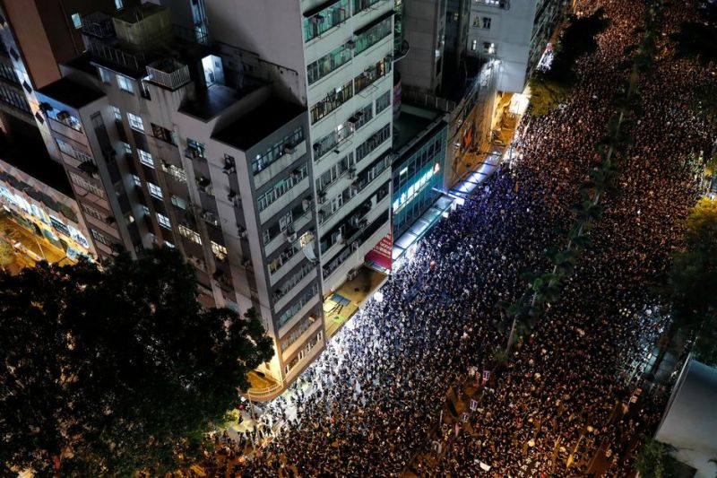 COMMENTARY: Hong Kong Protests Show Disconnect Between People and Their Leaders