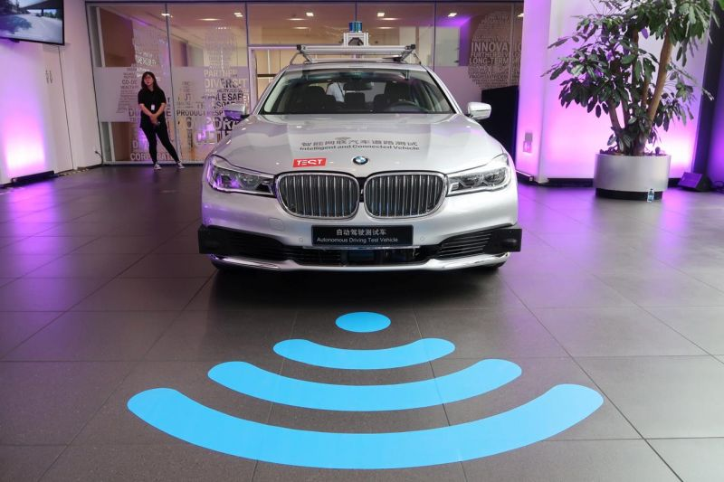 BMW, Tencent to Open Computing Center in China for Self-driving Cars