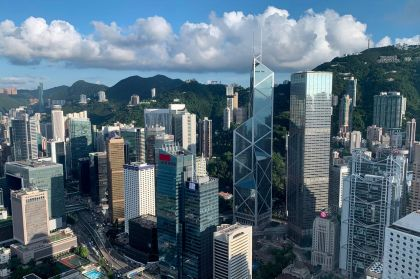 Hong Kong's Second Quarter GDP Growth Seen Firmer, but Trade War, Protests to Bite
