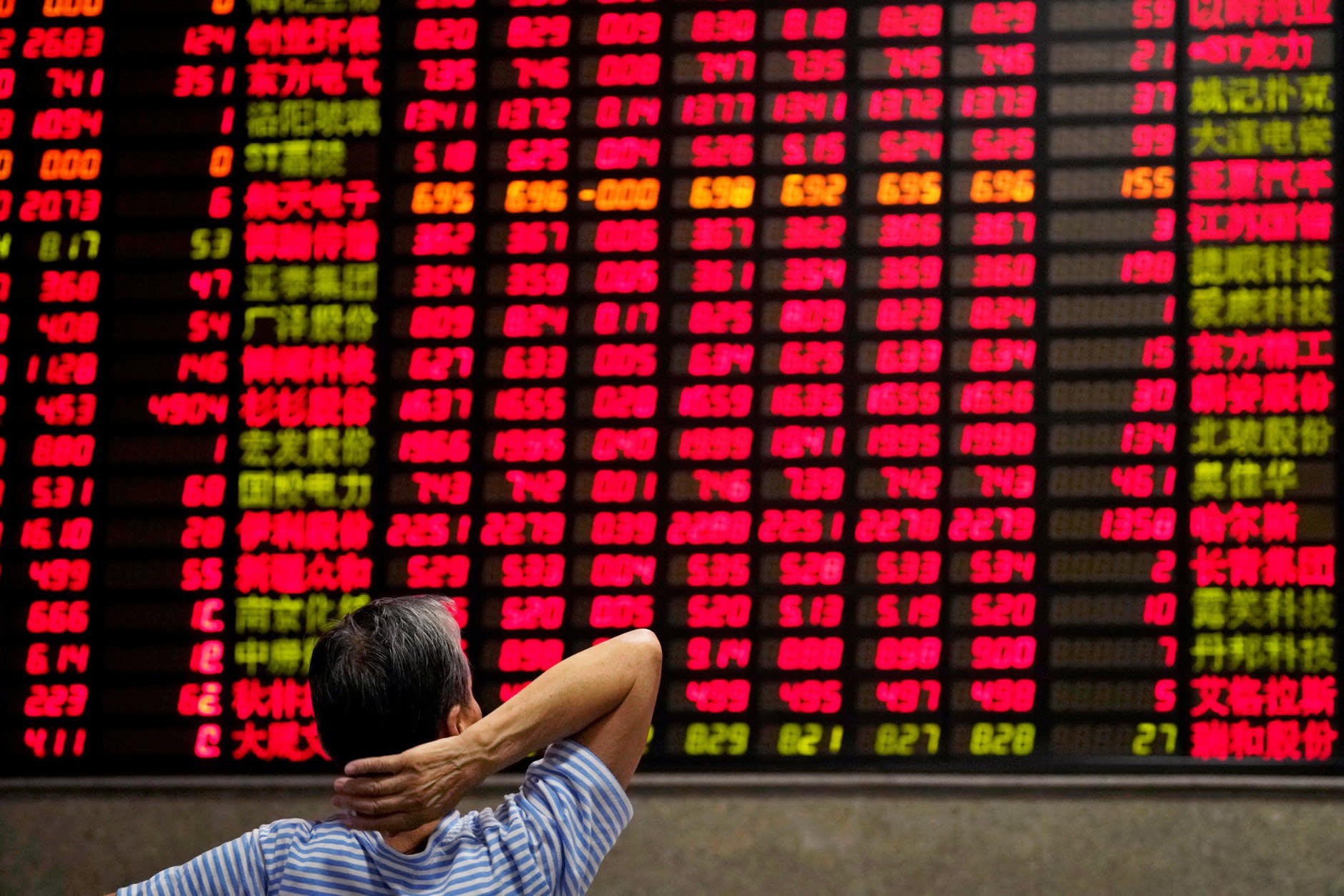 Chinese Stocks Take Massive Hit as Trade War Intensifies