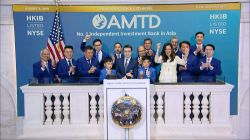 AMTD International Among Few Gainers Monday in New York IPO