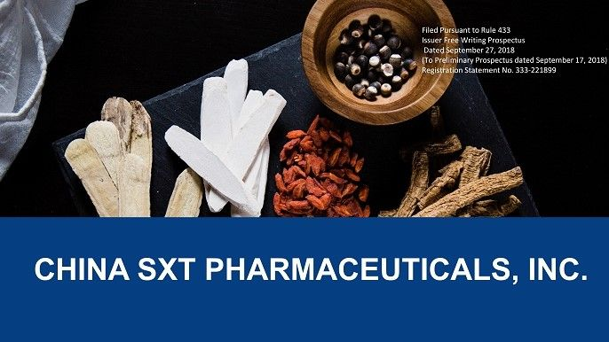 China SXT Shares Soar 19% on Pharmaceutical GMP Certificate