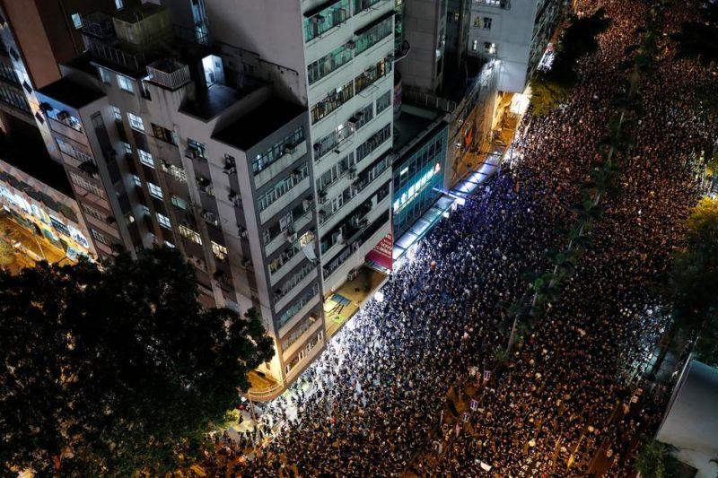 Hong Kong Violence Overshadows China's National Day Celebrations