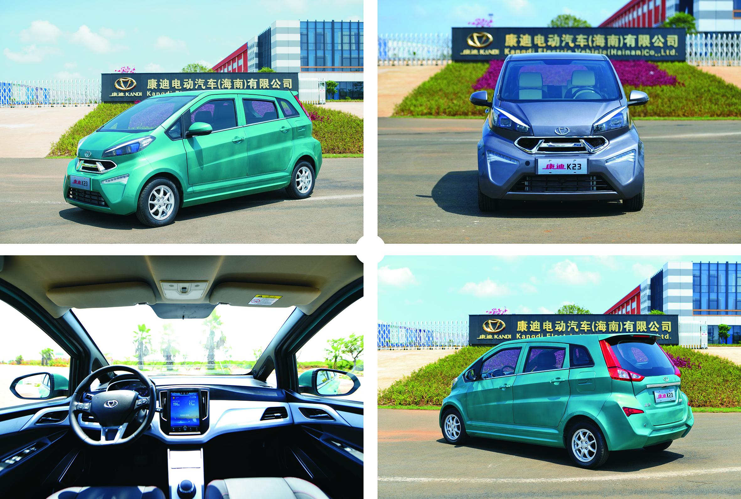 Kandi's E-Vehicle K23 to Launch Sales in U.S