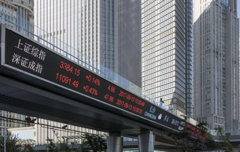 China's Markets Cap at $7.7 Trillion in September, Second-Largest After U.S.