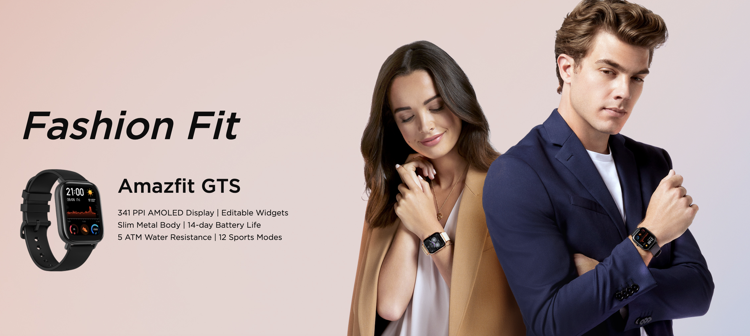 Huami Launches Amazfit GTS, Available in Europe