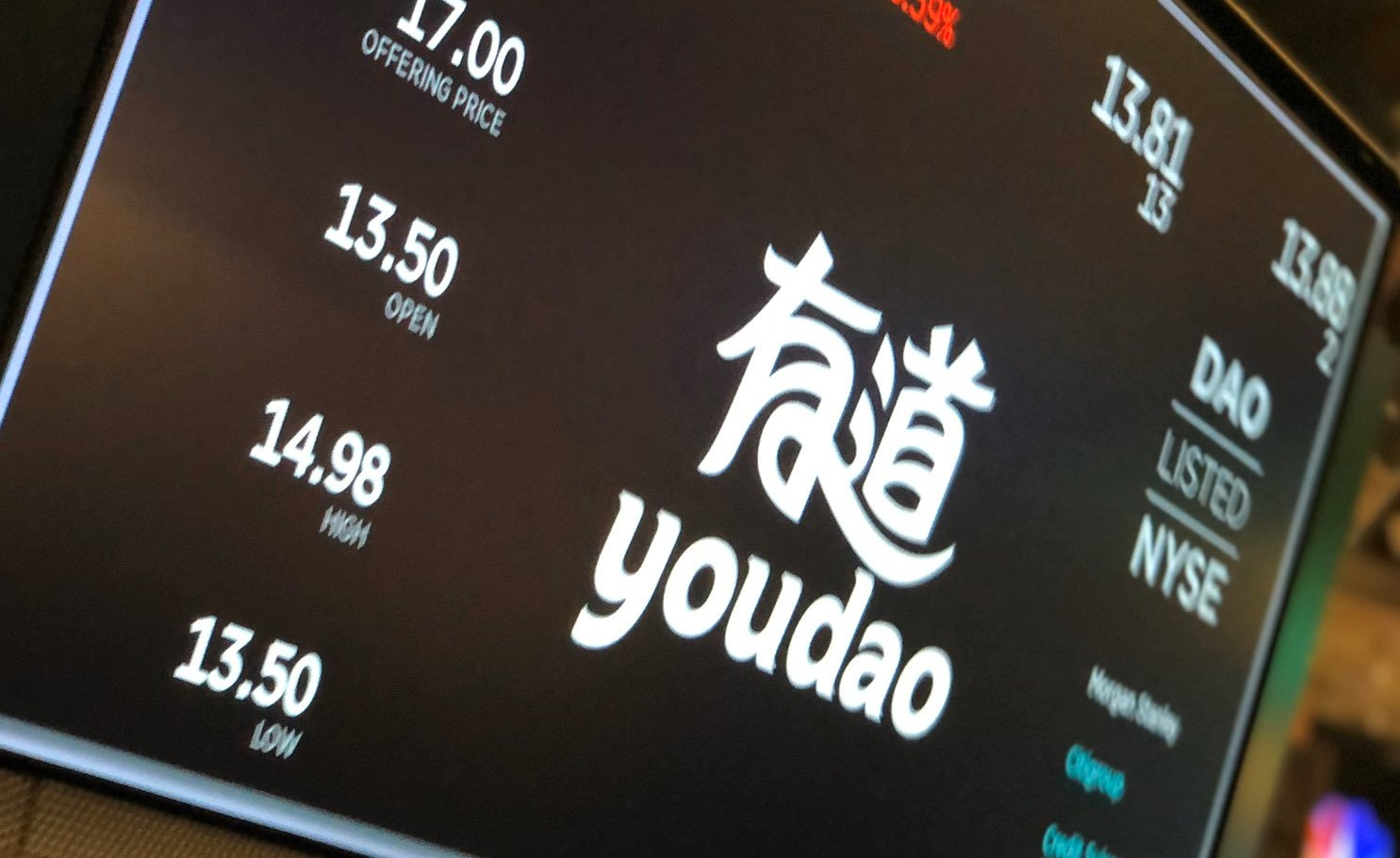 Youdao Down 17% Upon Debut at a Shaky Time for China IPOs