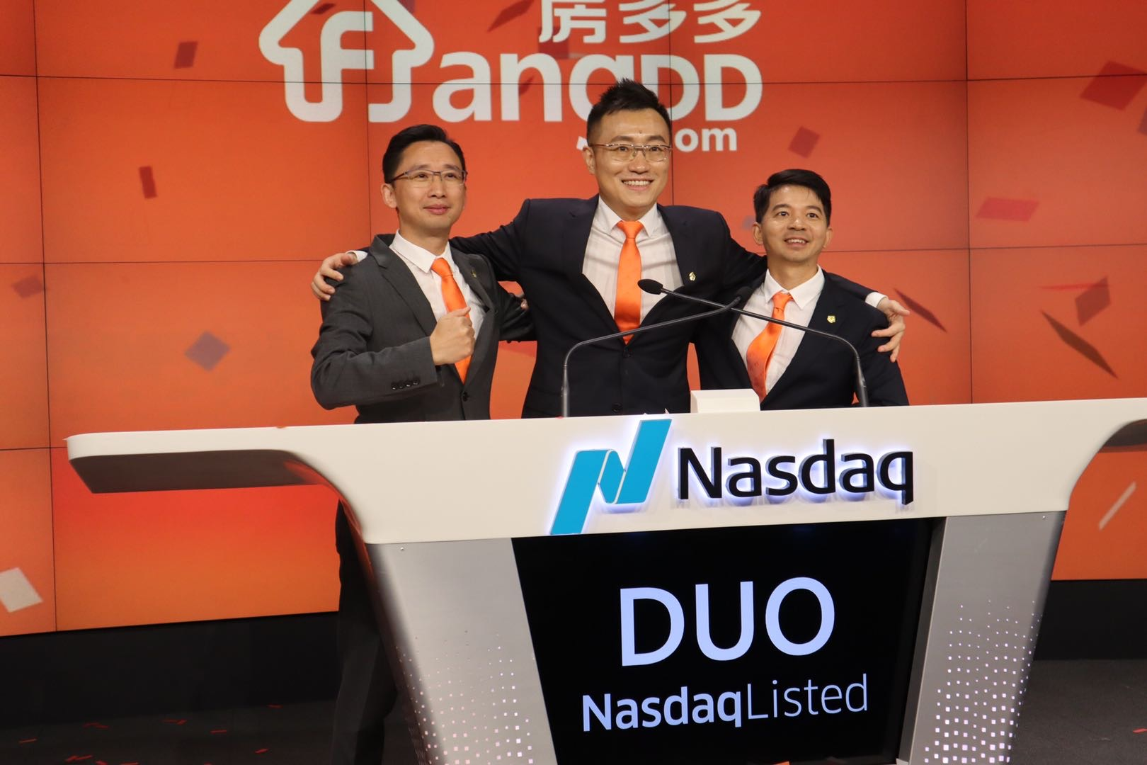 Image result for China's real estate e-platform Fangdd makes Nasdaq Debut