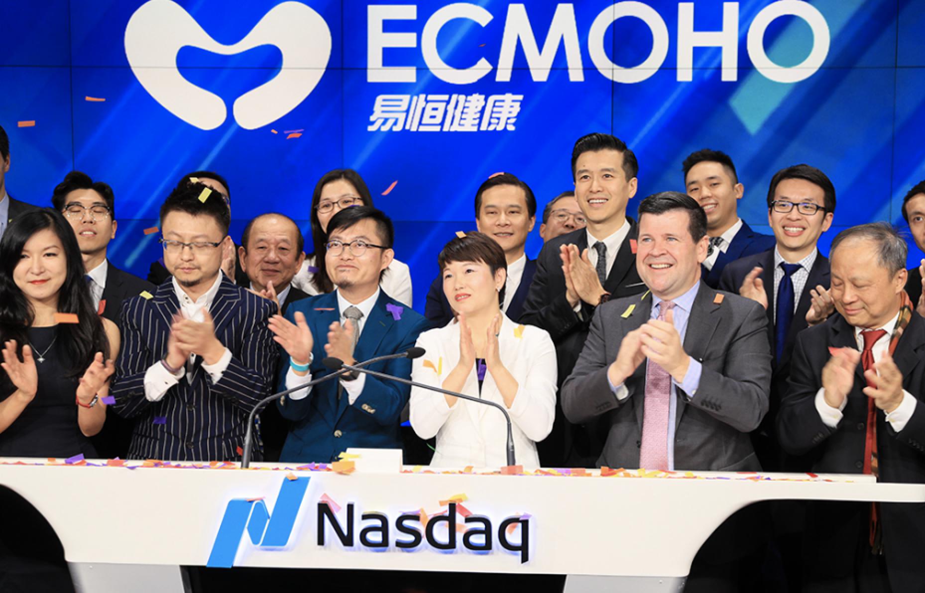 Ecmoho, a Health and Wellness Company, Raises $44 Million in New York IPO