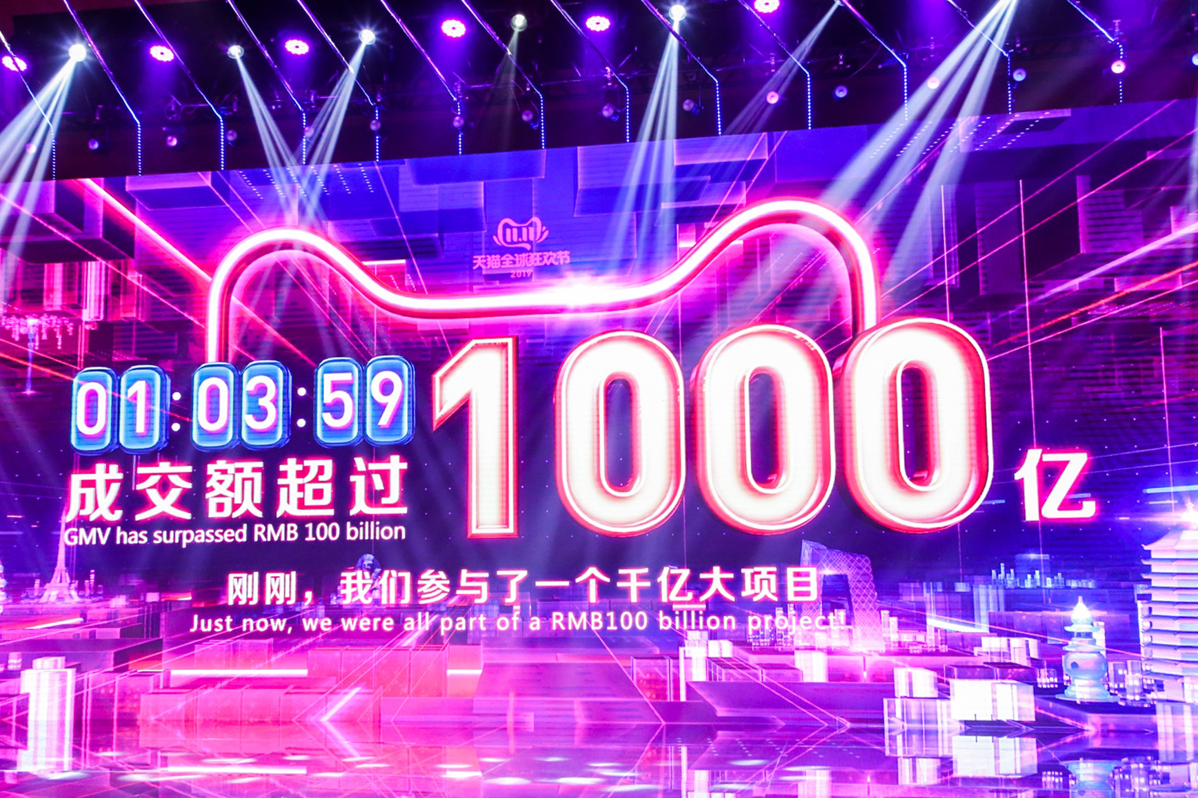 Alibaba Sets New Record for Sales on Singles Day