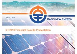 Daqo Soars 10% on Polysilicon Sales, Higher Profit