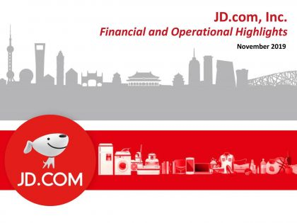 JD Stock Rises 1% on Revenue Beat, JD Logistics Expansion