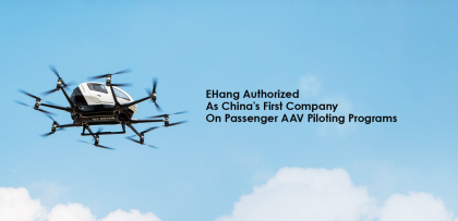 ANALYSIS: EHang Begins U.S. IPO Process as It Commercializes Autonomous Aerial Vehicles