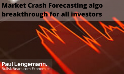 Market Crash Forecasting Algo Breakthrough for All Investors